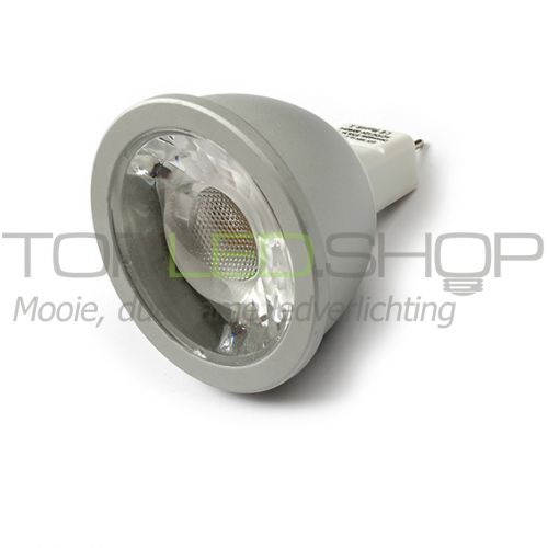 LED Lamp 12V, 5W, Warmwit, MR16, dimbaar, CRI 90