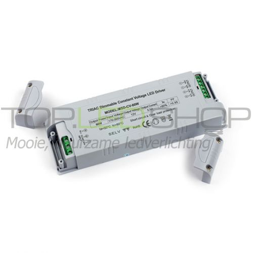 LED 48 Watt Dimbare transformator (DC)