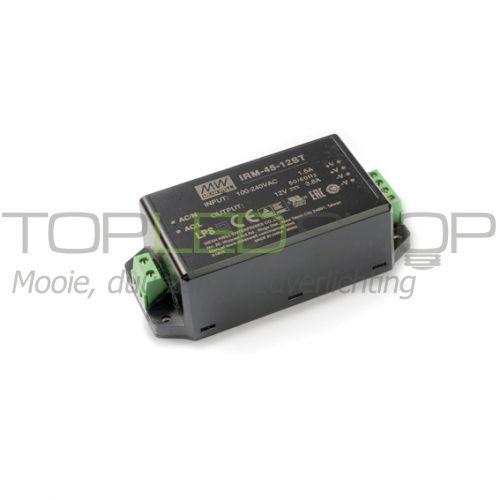 LED 45 Watt niet dimbare transformator, IRM-45-ST