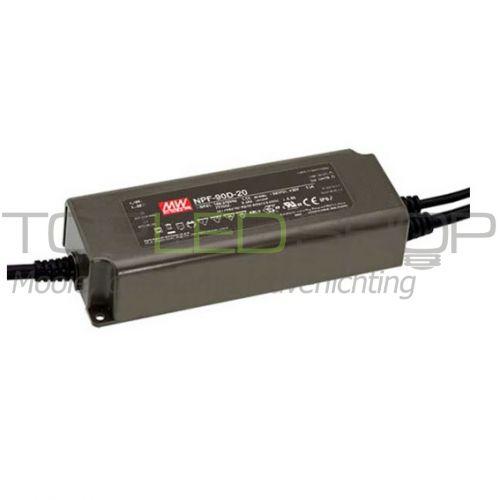 LED 60 Watt 0-10V dimbare transformator