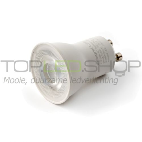 LED Lamp 230V, 4W, Warmwit, GU10, 35 mm, dimbaar